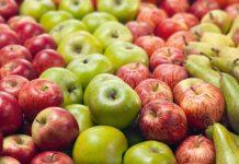 peras, manzana, frutas