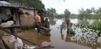 chaco, inundacion