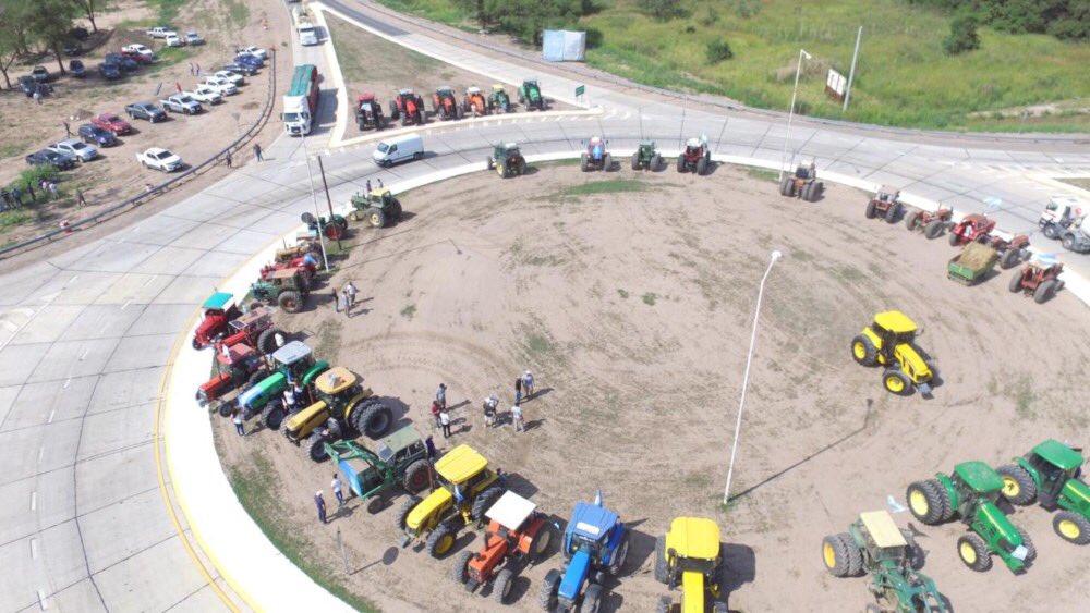 tractor protesta